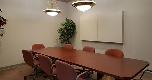 Albany NY court reporters conference room