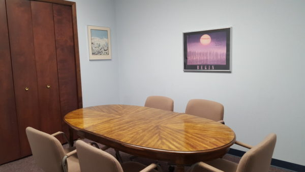 court reporter conference room