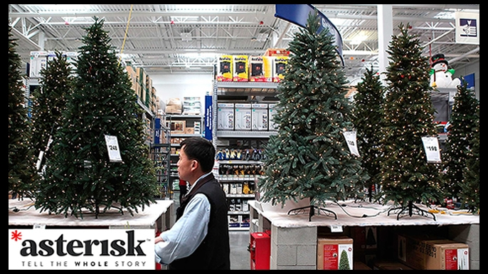 asterisk christmas tree history article